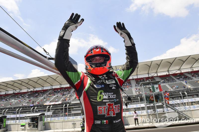 LMP2 pole sitters #43 RGR Sport by Morand Ligier JSP2 - Nissan: Ricardo Gonzalez, Filipe Albuquerque