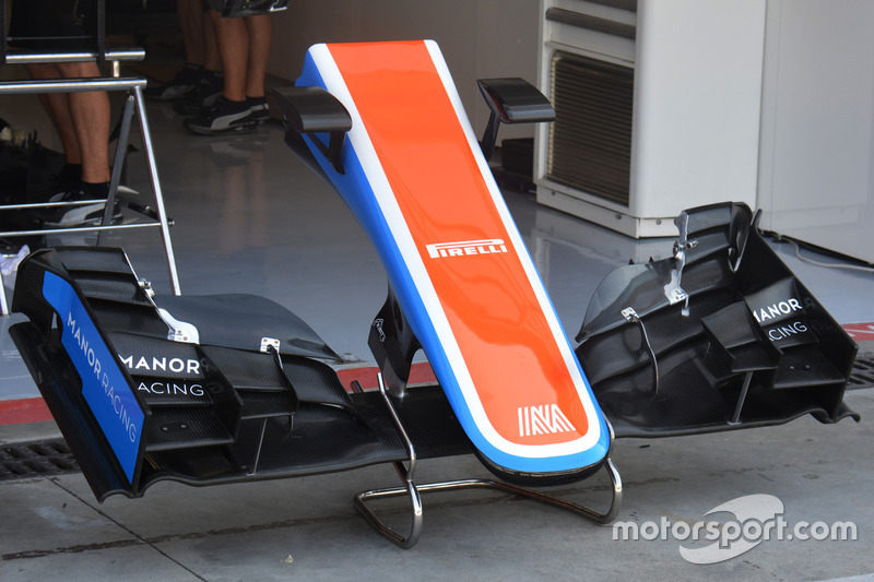 Manor Racing MRT05, ala anteriore