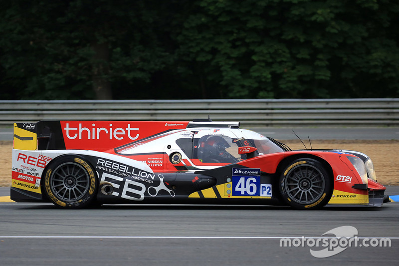 #46 Thiriet by TDS Racing Oreca 05 Nissan: П'єрр Тір'є, Матіас Беш, Ре Хіракава