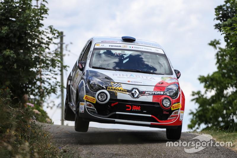 Massimo Cesa, Manuel Menegon, BL Racing, Renault Twingo R2