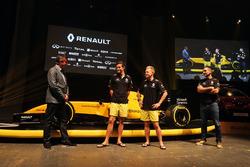 David Croft, Sky Sports Commentator, Jolyon Palmer, Renault Sport F1 Team, Kevin Magnussen, Renault