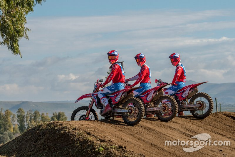 Team HRC Honda rijders