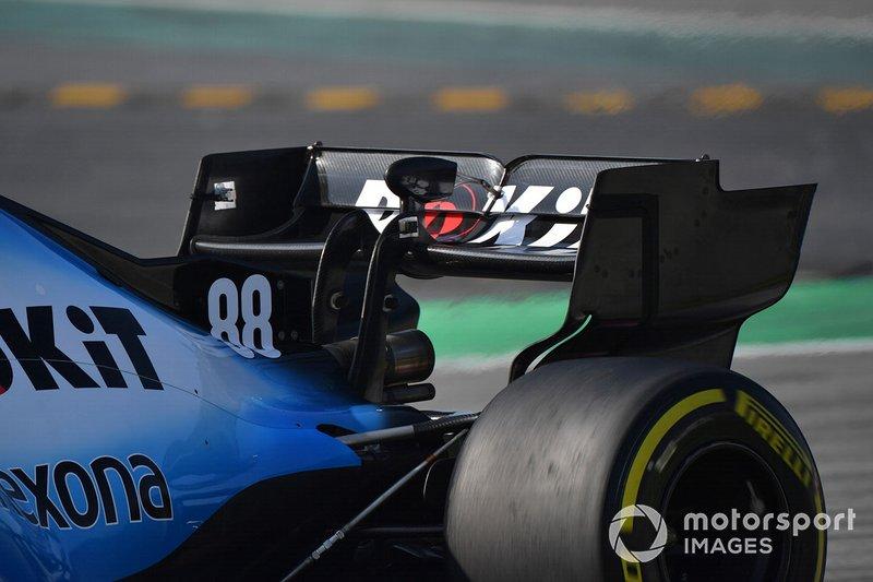 Alerón trasro del Williams FW42