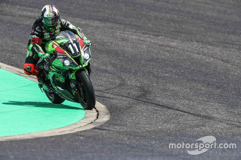 #11 Kawasaki Team Green: Jonathan Rea, Leon Haslam, Kazuma Watanabe