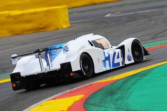 La GreenGT LMPH2G effectue un tour de piste