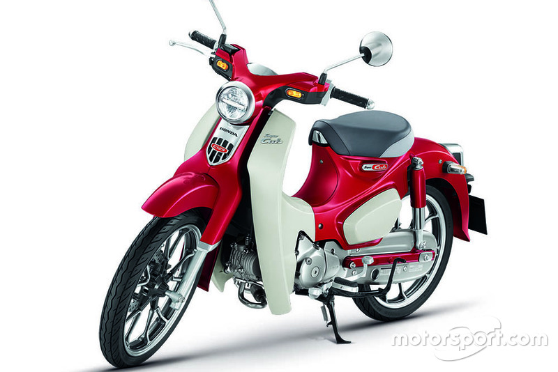 Honda Super Cub C125-Pearl Nebula Red