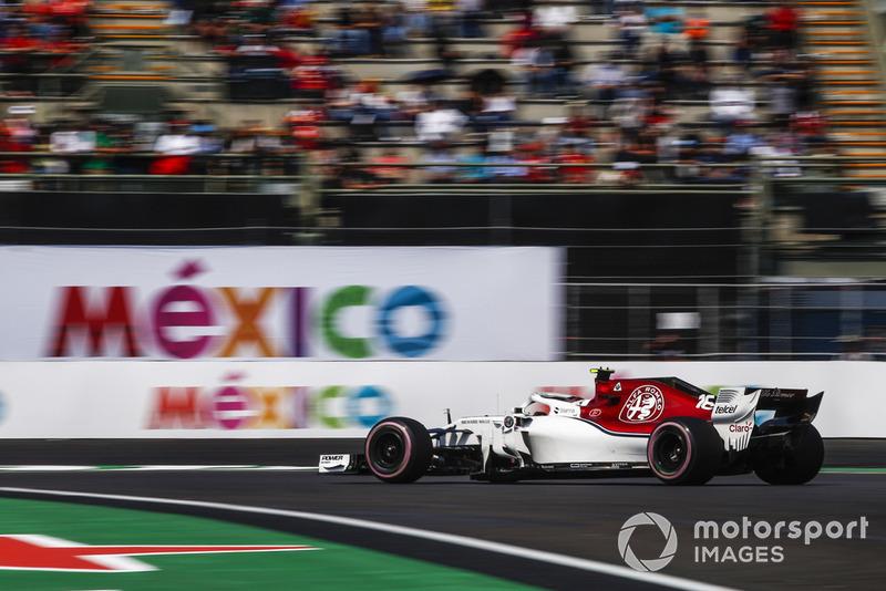 7. Charles Leclerc, Alfa Romeo Sauber C37