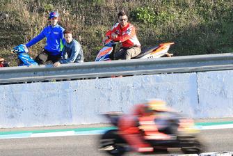Alex Rins, Suzuki MotoGP Team, Andrea Dovizioso, Ducati Team