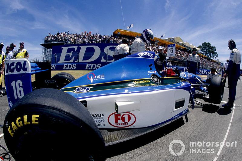 Bertrand Gachot, Pacific Grand Prix