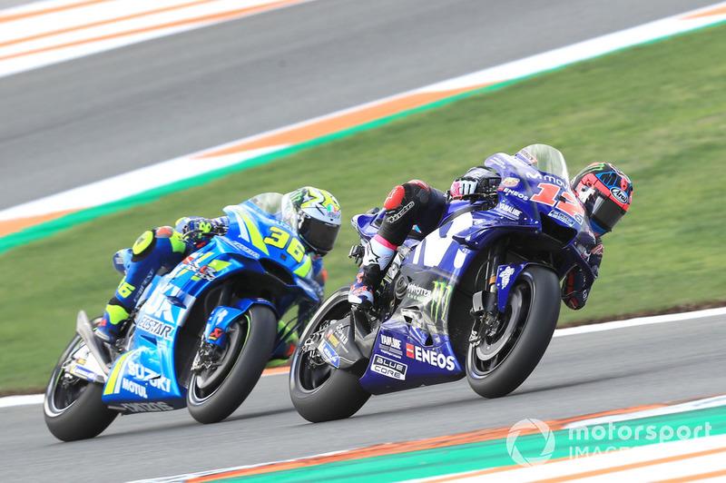 Маверік Віньялес, Yamaha Factory Racing, Хоан Мір, Team Suzuki Ecstar