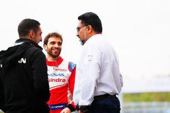 Jérome d'Ambrosio, Mahindra Racing, Sébastien Buemi, Nissan e.Dams, Dilbagh Gill, Team Principal, Mahindra Racing