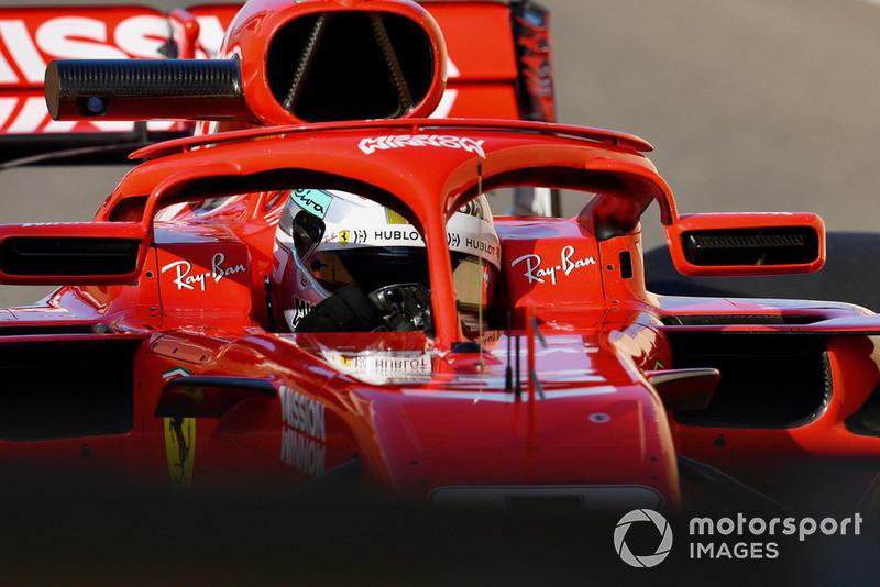 3. Sebastian Vettel, Ferrari (105 poin)
