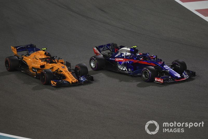 П'єр Гаслі, Scuderia Toro Rosso STR13, Стоффель Вандорн, McLaren MCL33