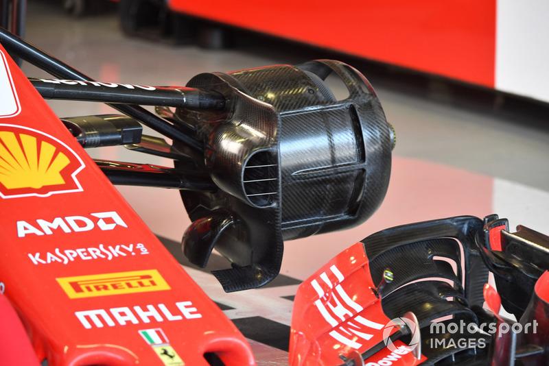 Ferrari SF-71H front wheel hub