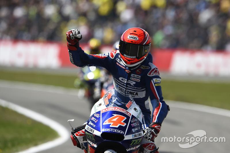 İkinci sıra Fabio Di Giannantonio, Gresini Racing Team Moto3