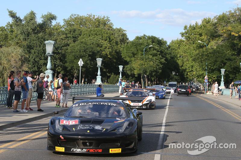 #66 Black Pearl Racing Ferrari 458 Italia GT3: Steve Parrow, Christian Hook