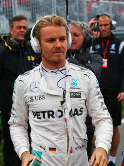 Nico Rosberg, Mercedes AMG F1 on the grid