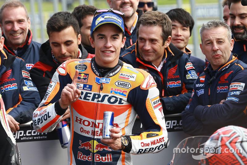 Ganador de la pole Marc Márquez, Repsol Honda Team