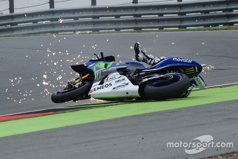 La caduta di Jorge Lorenzo, Yamaha Factory Racing