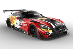 #89 AKKA ASP, Mercedes-AMG GT3: Daniele Perfetti, Laurent Cazenave, Michael Lyons, Morga Moullin-Traffort