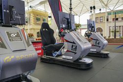 The Nissan GT Academy simulators