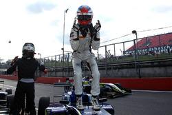 Race winner Colton Herta, Carlin