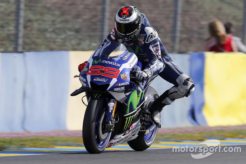 Frankreich, Le Mans: Jorge Lorenzo (Yamaha)
