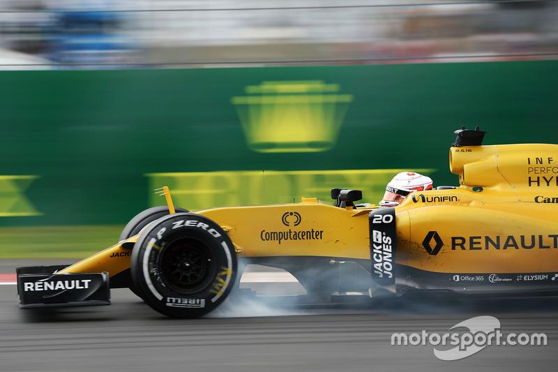 Verbremser: Kevin Magnussen, Renault Sport F1 Team RS16