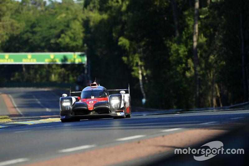 Второе место LMP1: Toyota №8
