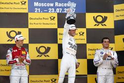 Podium: 1. Maro Engel, Mercedes-AMG Team HWA, Mercedes-AMG C63 DTM, 2. Mattias Ekström, Audi Sport T