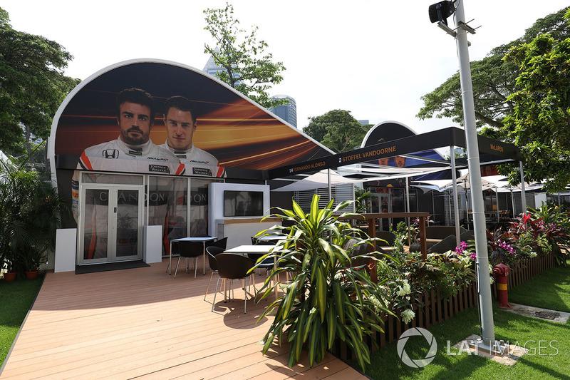 McLaren: Teamquartier