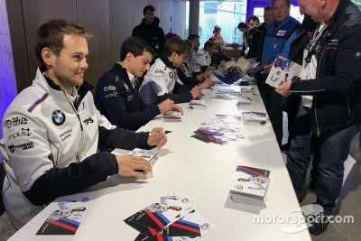 Презентация команды BMW Motorsport