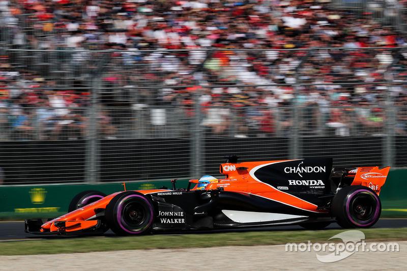 Ausfall:Fernando Alonso, McLaren
