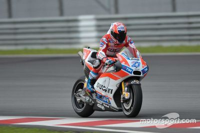 Ducati Sepang testing