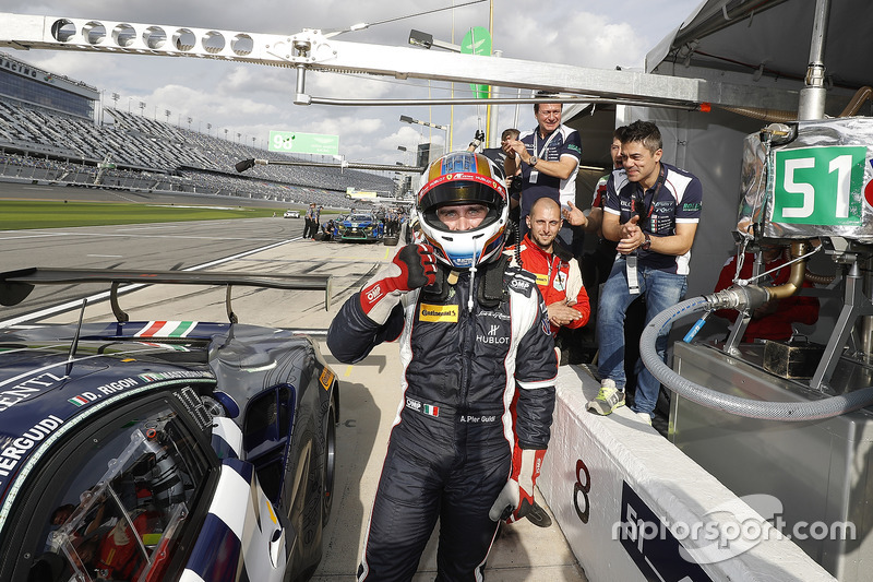 Pole position GTD de Alessandro Pier Guidi, Spirit of Race