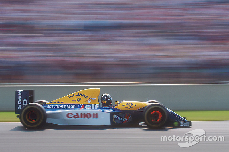 Damon Hill, Williams FW15C Renault