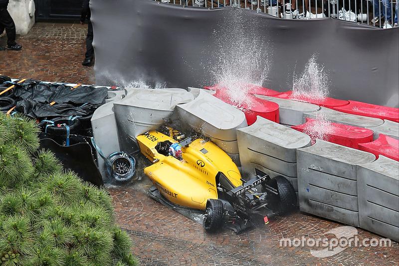 9. Jolyon Palmer, Renault Sport F1 Team (GP de Mónaco)