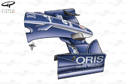 Williams FW28 2006 front wing and nose