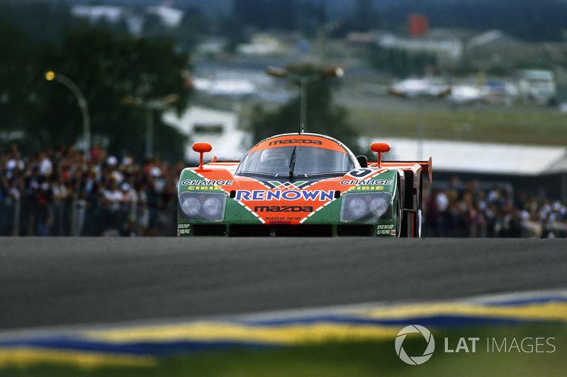1991: Volker Weidler, Johnny Herbert, Bertrand Gachot, Mazda 787B