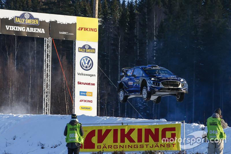 Отт Тянак, Мартин Ярвеоя, Ford Fiesta WRC