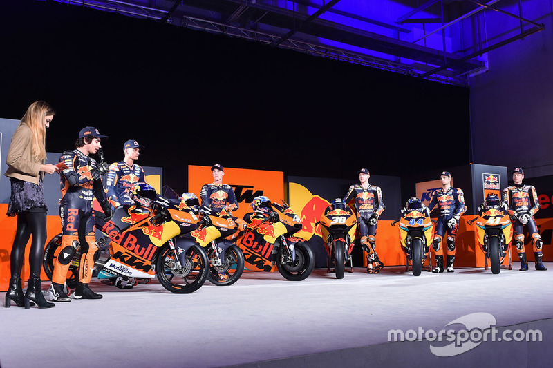 Red Bull KTM Factory Racing pilotos