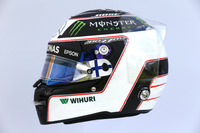 Il casco di Valtteri Bottas, Mercedes AMG F1 W08