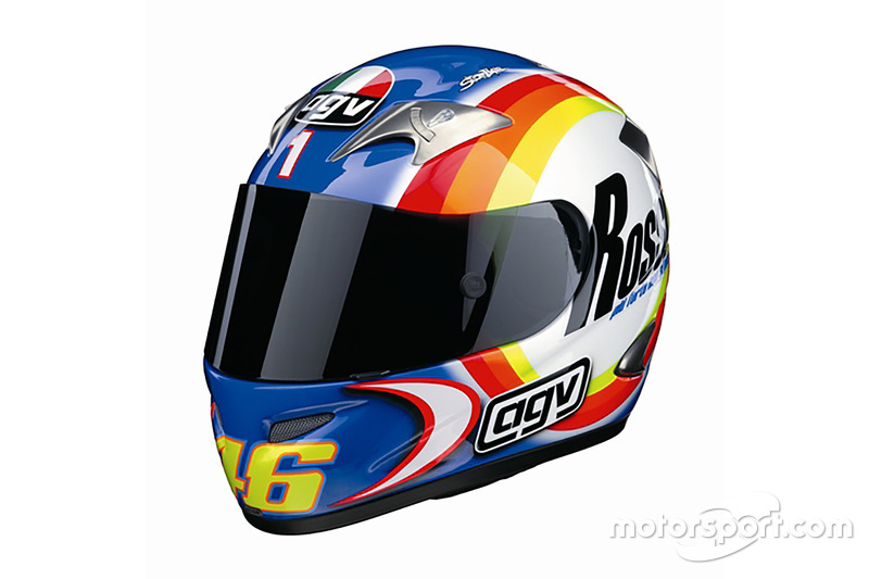 Helm Valentino Rossi, Tes Sepang 2004