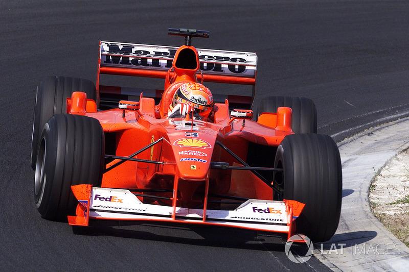#28 GP de Hongrie 2000 (Ferrari F1-2000)