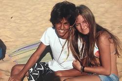 Felipe Nasr e Julia Piquet