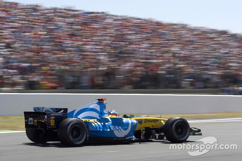 Из действующих гонщиков лишь двое одерживали победы во Франции– Фернандо Алонсо (2005) и Кими Райкконену (2007) это удалось по одному разу