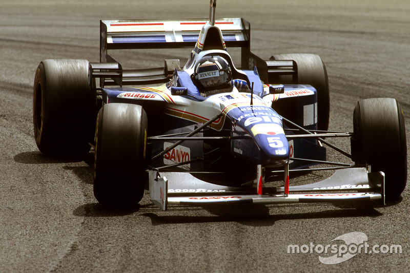 12. El Williams FW18 Renault de Fórmula 1