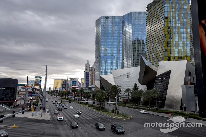 Ambiente de las Vegas Strip