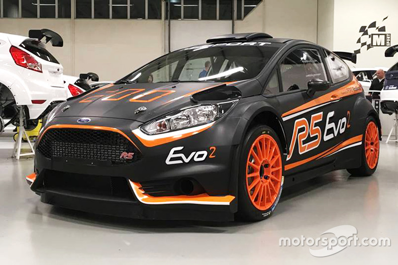 M-Sport Ford Fiesta R5 EVO2 unveil