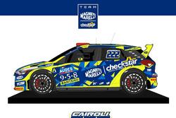 Livrea Hyundai i20 di Tony Cairoli